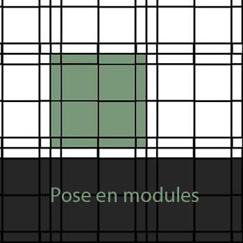 Pose de carrelage en modules